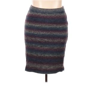 Lane Bryant Knit Skirt Wool Blend Winter Fitted